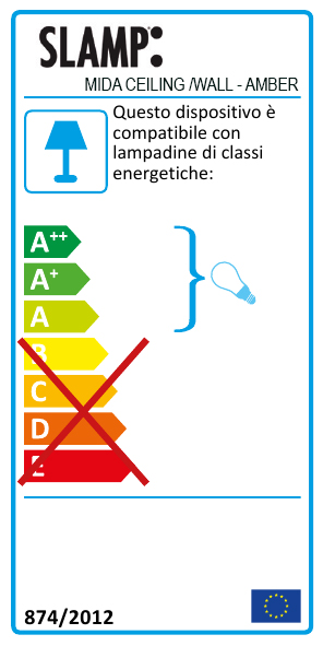 Mida-ceiling-wall-amber-IT_energy-label