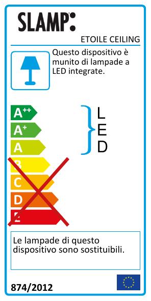 etoile-ceiling_IT_energy-label